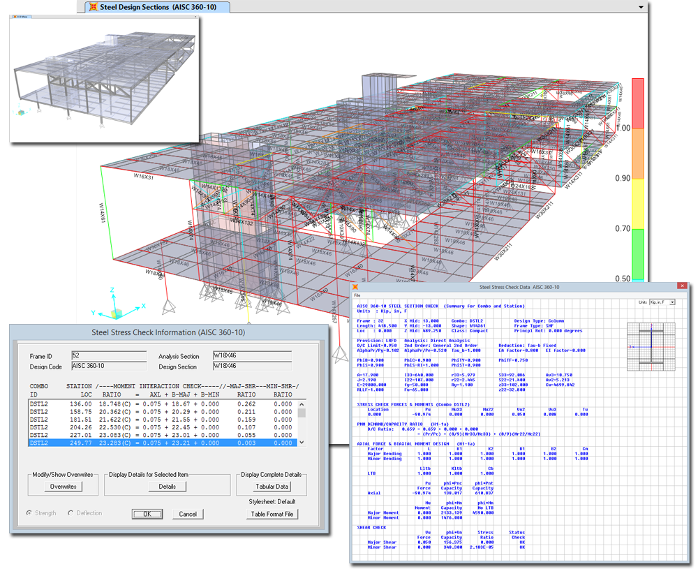 Csi spain sap2000 - Steel framing espana ...
